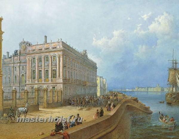 016 Вид набережной и Мраморного дворца
