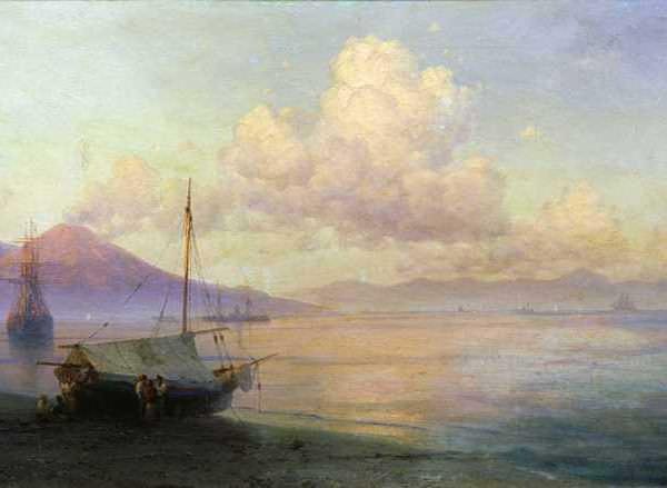 003 Айвазовский Неаполитанский залив ранним утром 1893