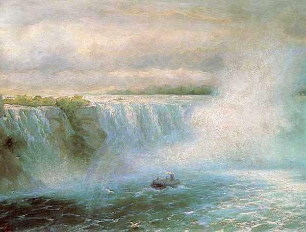 004 Айвазовский, И К. Ниагарский водопад