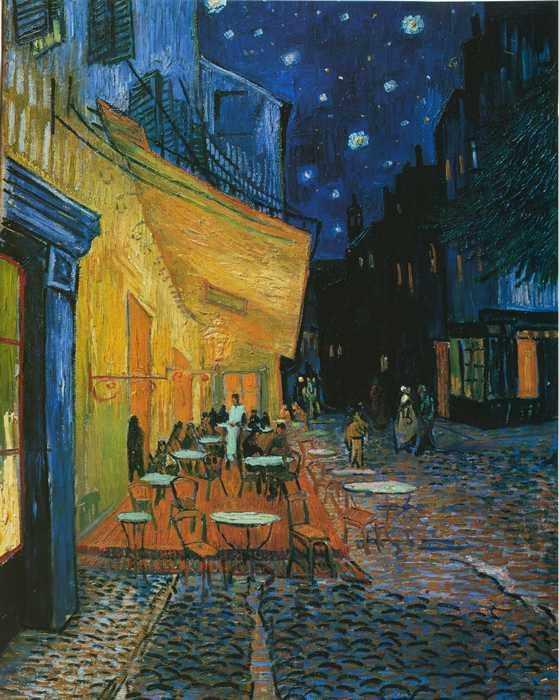 004 Ван Гог, Винсент. Ночное кафе