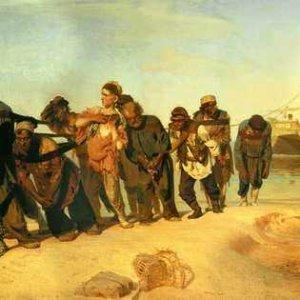 Бурлаки на Волге - Илья Репин