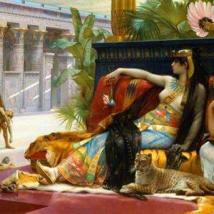 Египетская царица Клеопатра - Александр Кабанель