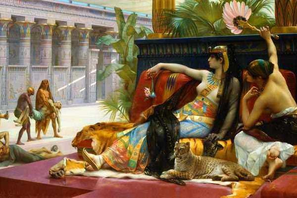Египетская царица Клеопатра – Александр Кабанель