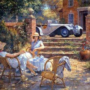 Чай в саду - Алан Фернли