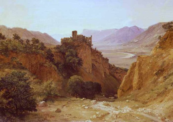 007 Герц КК Развалины брунненбурга на рейне 1860
