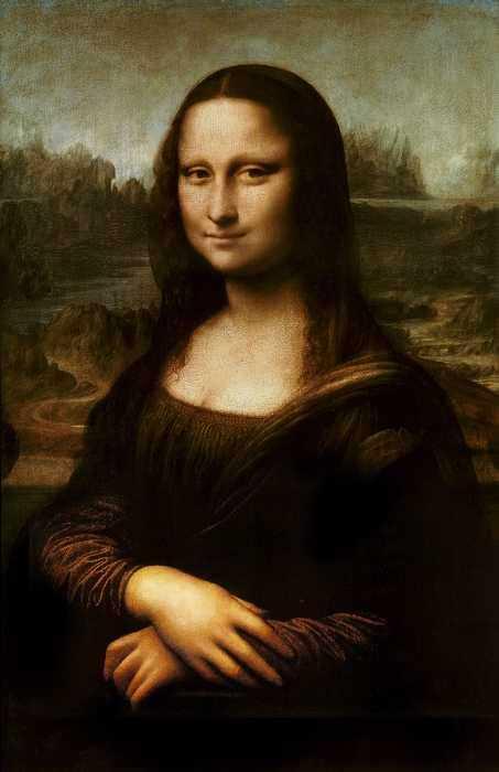 Мона Лиза Джоконда - Леонардо да Винчи
