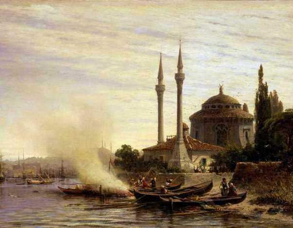 008 Боголюбов АП Золотой рог в Константинополе 1864