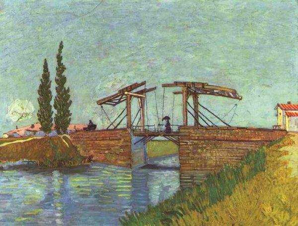 008 Ван Гог,Мост Англуа под Арлем