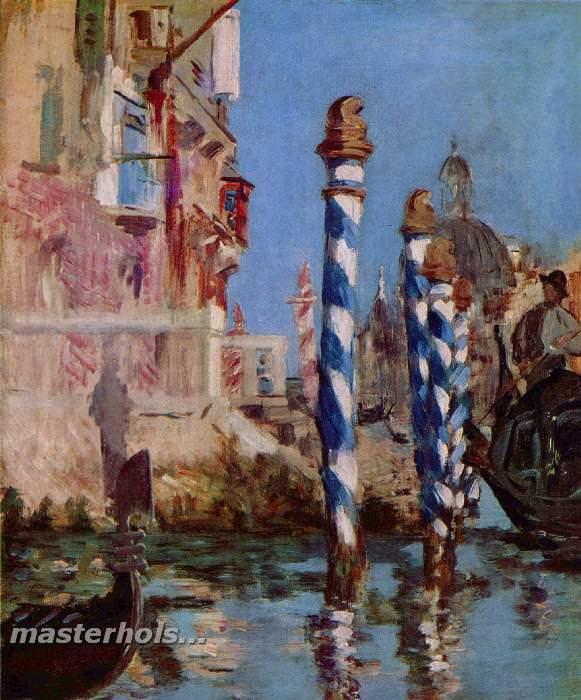 009 Мане, Эдуард.Большой канал в Венеции