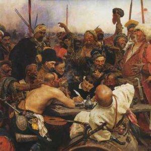 011 ШедеврыЗапорожцы пишут письмо турецкому султану - Илья Репин