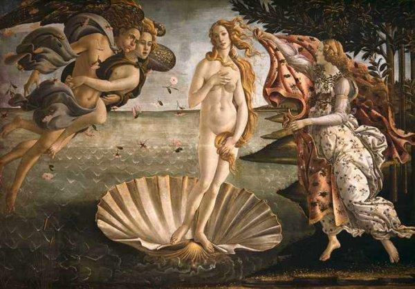 Рождение Венеры - Сандро Боттичелли
