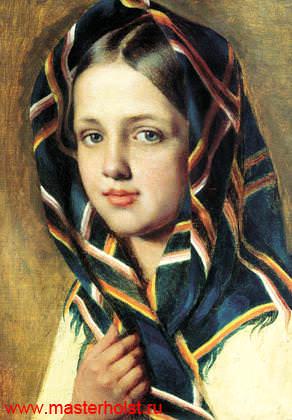 12сн Детский портрет
