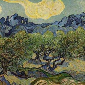 012 Ван Гог, Пейзаж с оливами