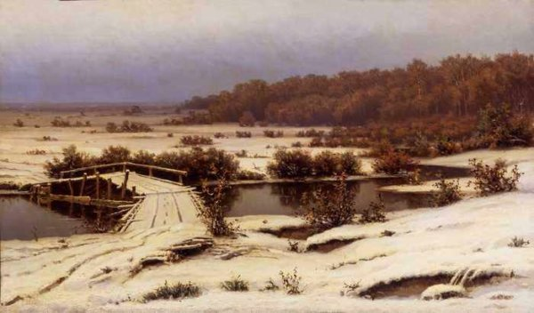 012 Волков, Е.П. Ранний снег