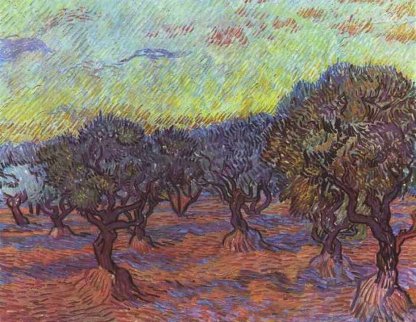 015 Ван Гог, Роща олив