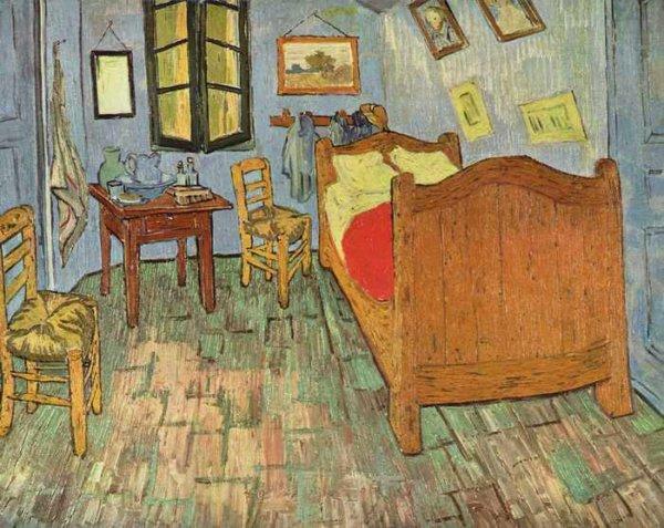 017 Ван Гог,Спальня Ван Гога