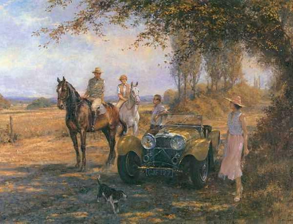 Утренняя поездка - Алан Фернли