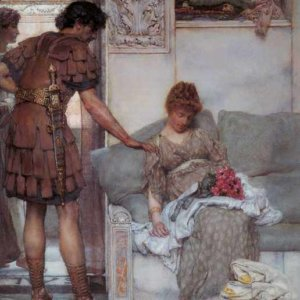 026 Alma_Tadema_A_Silent_Greeting
