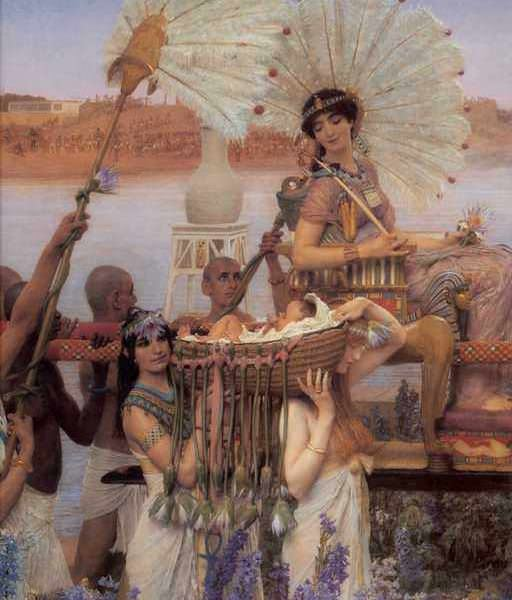 029 Alma_Tadema_The_Finding_of_Moses_d