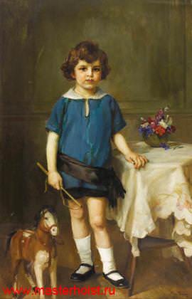 30сн Детский портрет