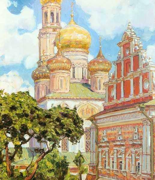 029 Васнецов А, Симонов монастырь