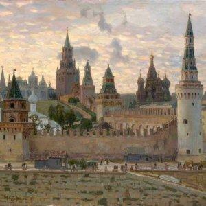 030 Васнецов А. Кремль