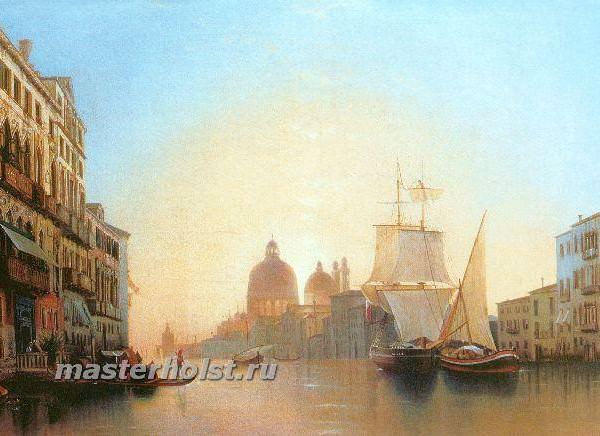 036 Мордвинов А, Утро в Венеции