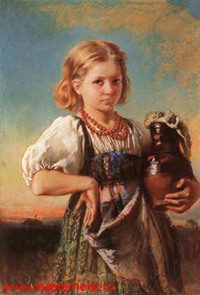 37сн Детский портрет