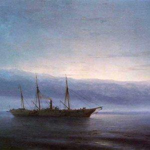 037 Айвазовский, И К. Перед боем. Корабль Константинополь