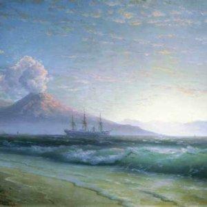 039 Айвазовский, И.К. Неаполитанский залив. Прогулка