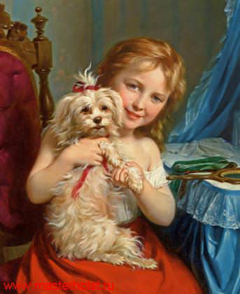 42сн Детский портрет