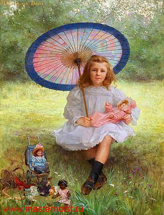 43сн Детский портрет