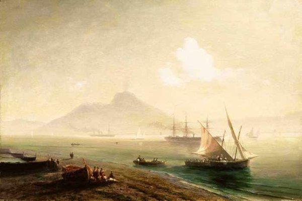 042 Айвазовский Морской залив 1900