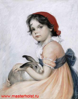 45сн Детский портрет