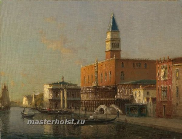 047 Antoine Bouvard Sr - The Doges Palace, Venice