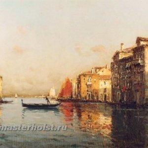 048 Antoine Bouvard Sr - The Grand Canal, Venice