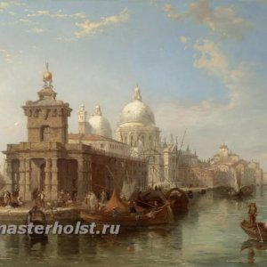 051 Edward Pritchett - The Church of the Salute, Venice