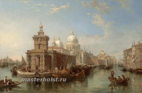 051 Edward Pritchett – The Church of the Salute, Venice