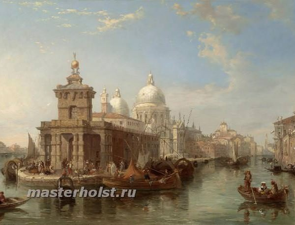 051 Edward Pritchett - The Church of the Salute, Venice