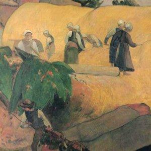 049 Гоген, Поль.Сбор урожая в Бретани
