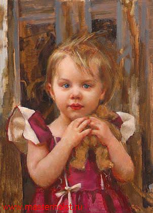53сн Детский портрет