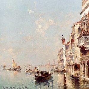 052 Franz Richard Unterberger - The Grand Canal Venice