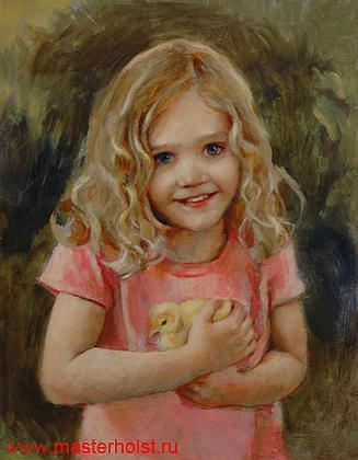 58сн Детский портрет