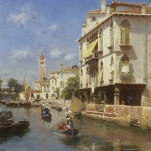056 Rubens Santoro - Canale della Guerra, Venice