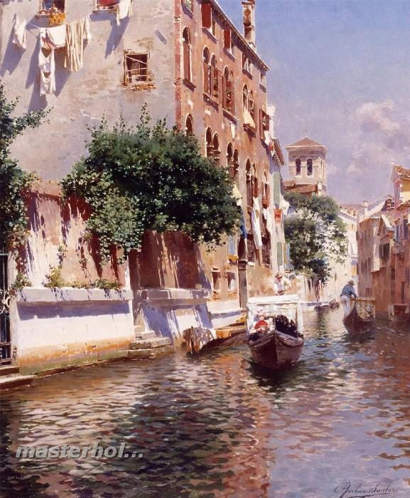 058 Rubens Santoro – St. Apostoli Canal, Venice