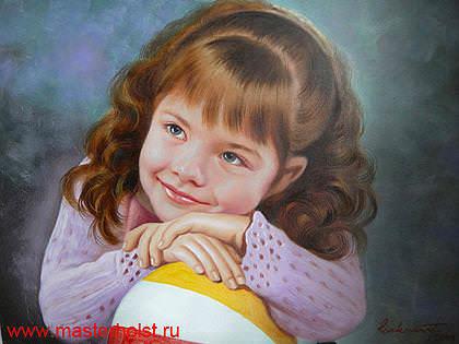 62сн Детский портрет
