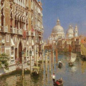 059 Rubens Santoro - The Grand Canal, Venice