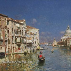 060 Rubens Santoro - The Grand Canal, Venice2