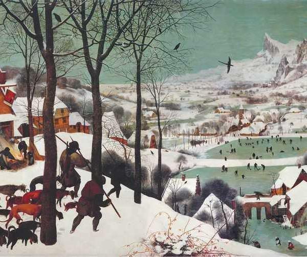 067 Брейгель, Питер. Охотники на снегу