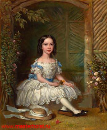 70сн Детский портрет